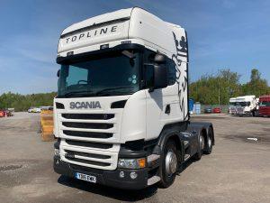 Scania R450 Topline 6×2 (2016) – SOLD