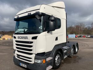 SCANIA R450 HIGHLINE 6X2 SOLD